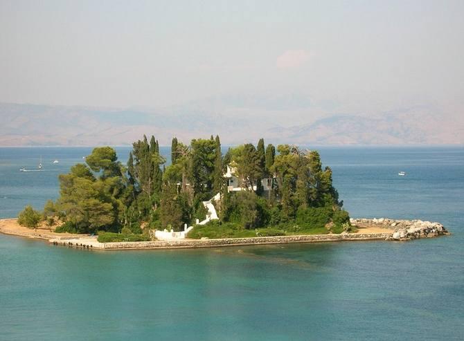 Отдых на острове Корфу, Мышиный остров