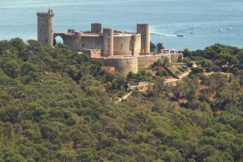 Отдых на островах Испании, остров Майорка, замок Бельвер