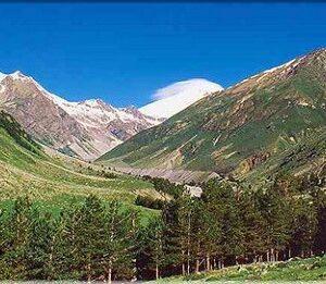 Кавказские минеральные воды - Прекрасные горные пейзажи