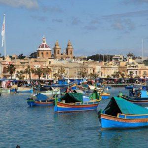 Отдых на Мальте - Рыбацкий поселок Марсашлокк