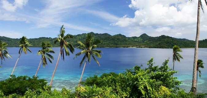 Отдых на острове Фиджи -Остров Матанги