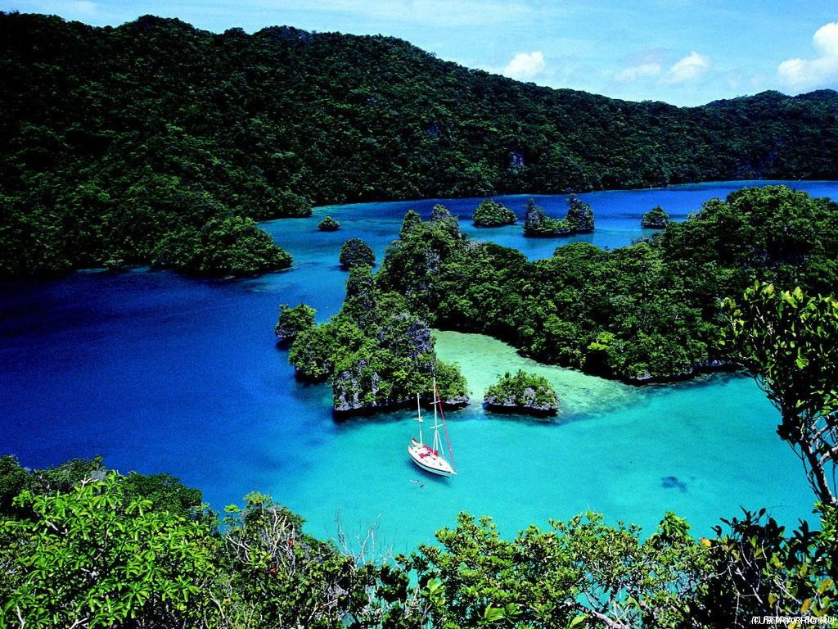 Отдых на острове Фиджи - Тихие лагуны Фиджи