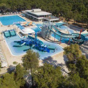 Отдых на островах Хорватии-Лошинь, аквапарк Чикат