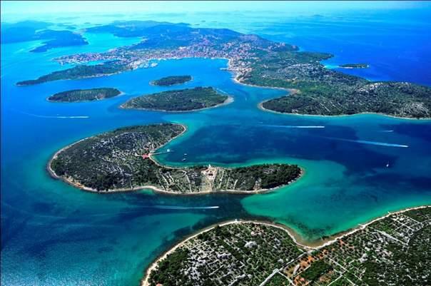 Отдых на островах Хорватии - Корнаты