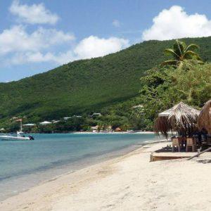Отдых на острове Мартиника-пляж Анс-А-Л'ан в бухте Grande Anse d.Arlet