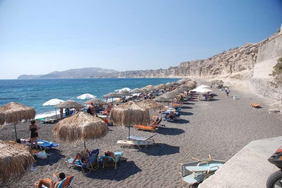 Отдых на острове Санторини-лучшие пляжи Санторини