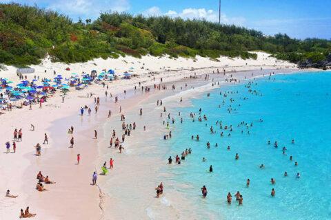 Топ 10 островов для отдыха-Бермудские острова-прекрасные пляжи Бермудов