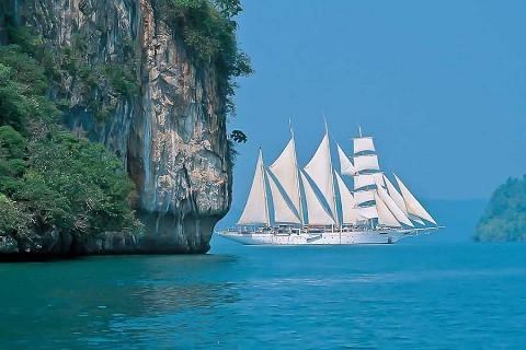Отдых на островах Тайланда, остров Самет, можно заняться парусным спортом
