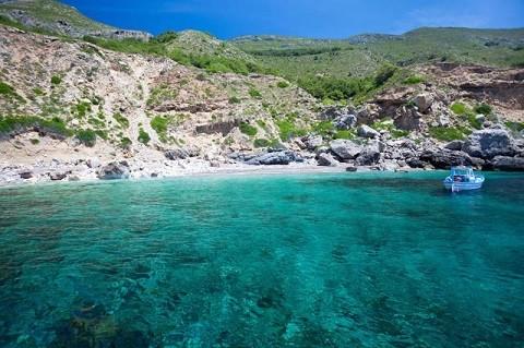 Отдых на острове Искья, рельеф