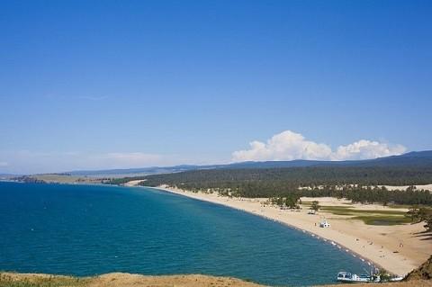 Отдых на острове Ольхон - Урочище песчаное