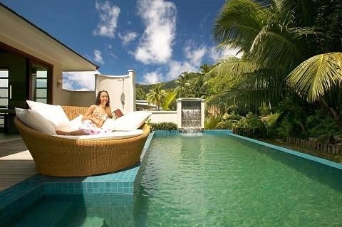 отдых на Сейшельских островах, остров Силуэт - шикарный отель