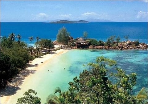 отдых на Сейшельских островах, остров Праслин - пляж Grand Ance