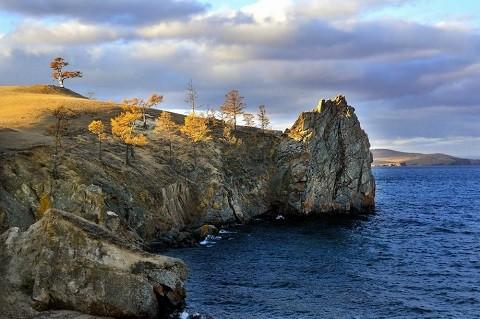 Отдых на острове Ольхон - мыс Хоргой