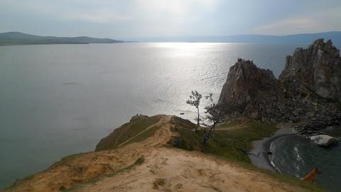 Отдых на острове Ольхон - скала_Шаманка