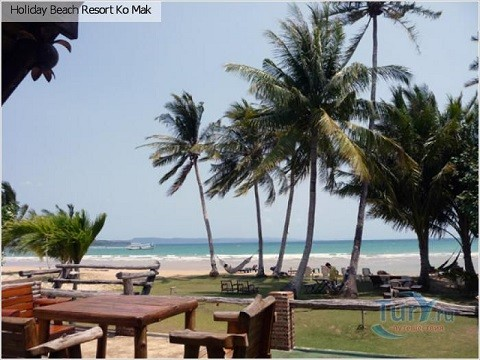 Отдых на островах Тайланда, остров Мак - отель Holiday Beach Resort Ko Mak
