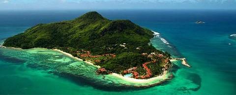 Отдых на Сейшельских островах - остров Маэ сверху